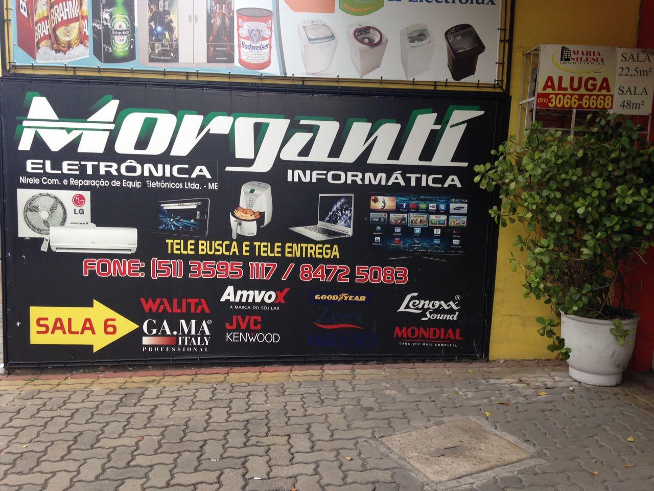 Morganti Eletronica e Informatica logo